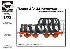 Tender 2'2'32 Vanderbilt für BR 52