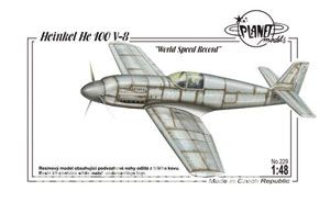 Heinkel He 100V-8 Weltgeschwindigkeitsrekord
