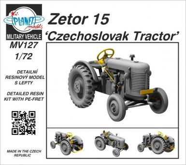 Zetor 15 Tschechoslowakischer Traktor