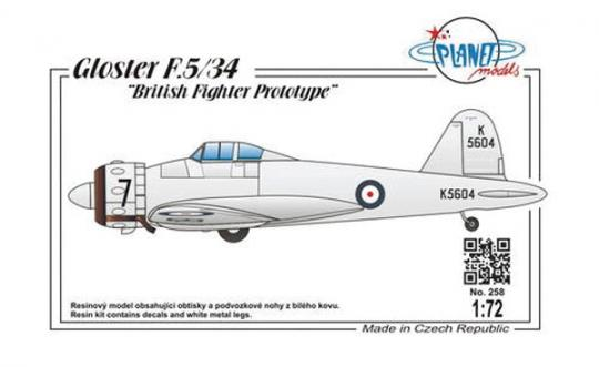 "Gloster F.5/34 ""Prototyp"""