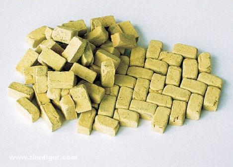 Pflastersteine, groß, Sandstein