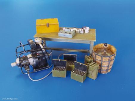 Deutsches Batterie-Lade-Set