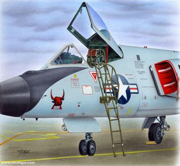 Ladder for F-106