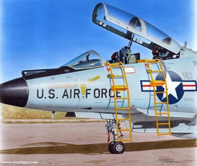 Ladder for F-101B Voodoo