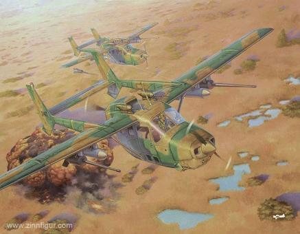 """Reims Cessna FTB337G Lynx """"Bush War Rhodesia"""""""
