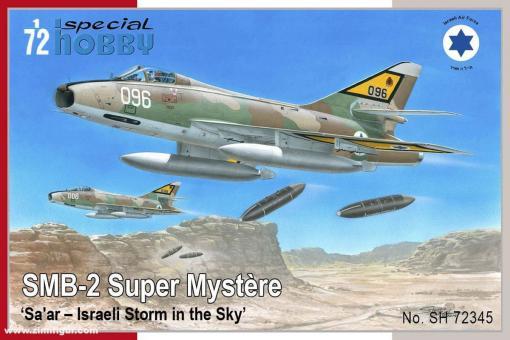 "SMB-2 Super Mystère ""Sa'ar - Israeli Storm in the Sky"""