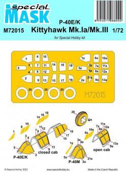 P-40E/K/Kittyhawk Mk.Ia/Mk.III - Special Mask