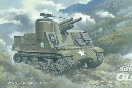 M7B2 105mm Howitzer Motor Carriage