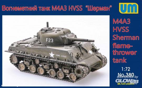 M4A3 HVSS Sherman Flammpanzer
