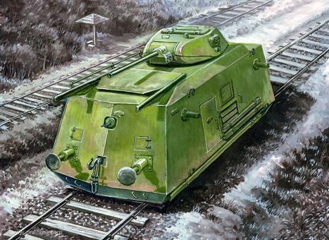 Gepanzerter Eisenbahnwagen BDT-41