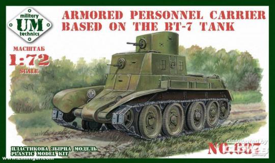 Schützenpanzer auf BT-7 Basis