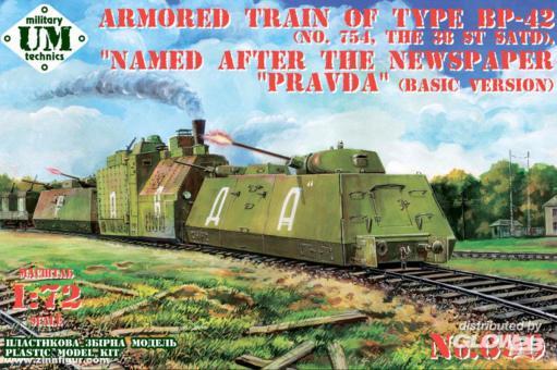 "Panzerzug BP-42 No.754 38. SATD ""Pravda"""