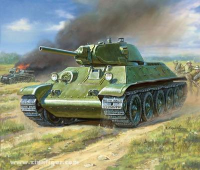 T-34/76 Tank Wagame Add-On