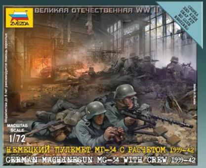 MG-34 with Crew - Wargame Add-On