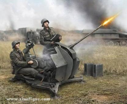 2 cm FlaK 38 Wargame AddOn