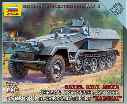 Sd.Kfz. 251/1 Ausf. B Wargame Add-On