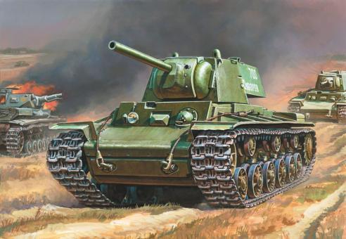 Sowjetischer Schwerer Panzer KV-1 Wargame Add-On