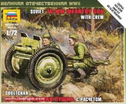 Soviet 76 mm Gun Wargame AddOn