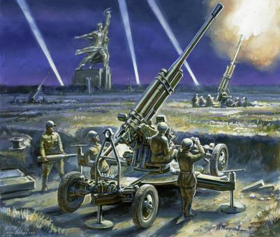 85mm Anti-Aircrat Gun Wargame Addon