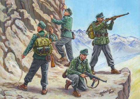 German Gebirgsjäger Wargame AddOn