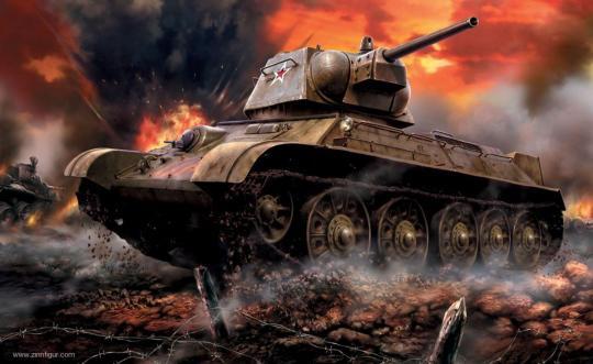 T-34-76 Mod. 1942 Wargame Add-On