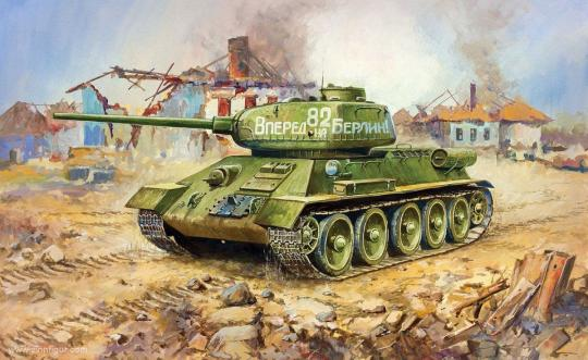 T-34/85 Wargame Add-On