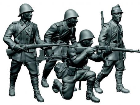 Rumänische Infanterie Wargame Add-On