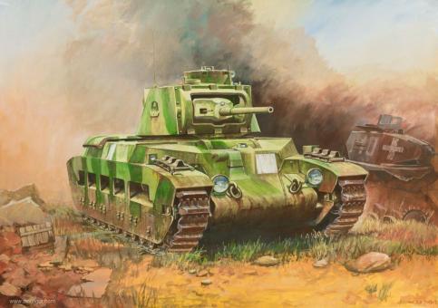 British Matilda Tank Wargame Add-On