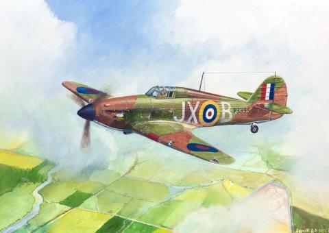 British Fighter Hurricane Mk.I  Wargame Add-On