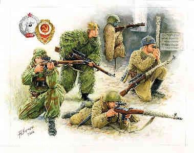 Sowjetische Heckenschützen Wargame Add-On