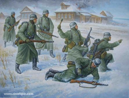Deutsche Infanterie (Winter) Wargame Add-On