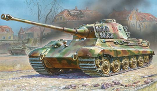 Sd.Kfz.182 Königstiger Henschel Wargame Add-On