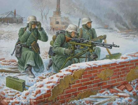 Deutscher MG-Trupp (Winter) Wargame Add-On