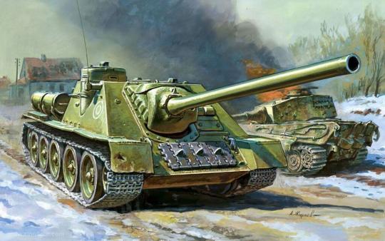 SU-100 Wargame Add-On