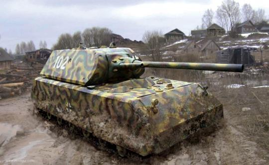 Super-Schwerer Panzer Maus