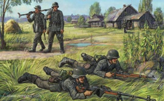 German Anti-Tank Rifle Team - Wargame Add-On