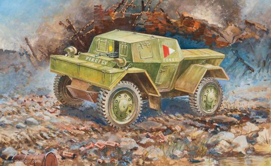 "Daimler ""Dingo"" Mk.I Wargame Add-On"