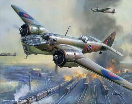 Bristol Blenheim IV Bomber Wargame Add-On