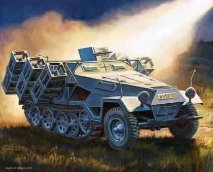 Sd.Kfz.251/1 Ausf.B Stuka zu Fuß - Wargame Add-On