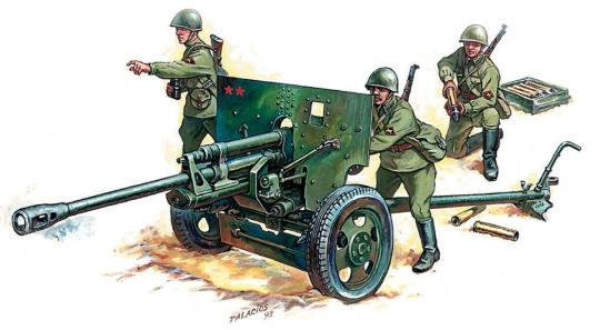 ZiS-3 Geschütz - Wargame Add-On