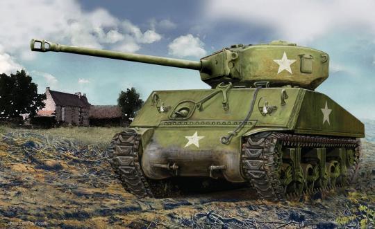 Sherman M4A2 - Wargame Add-On