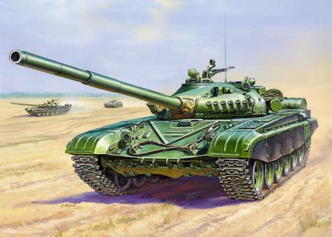 """T-72 """"Art of Tactic: Hot War"""""""