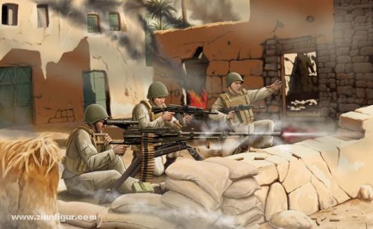 "Sowjetische MG-Schützen UTES  ""Art of Tactic: Hot War"""