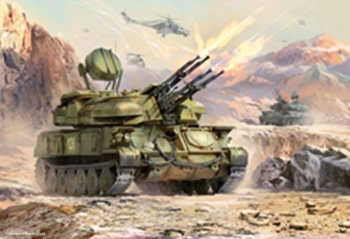 "Anti-Aircraft Weapon System Shilka ""Art of Tactic: Hot War"""