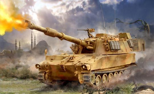 "M109A2 155mm Self-Propelled Howitzer ""Art of Tactic: Hot War"""