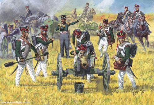 Russische Artillerie 1812-15