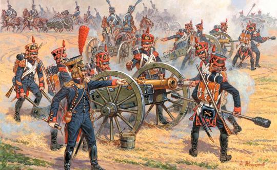 Artillerie zu Fuß 1812-14