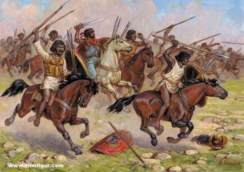 Numidian Cavalry - 3rd to 1st Century B.C.