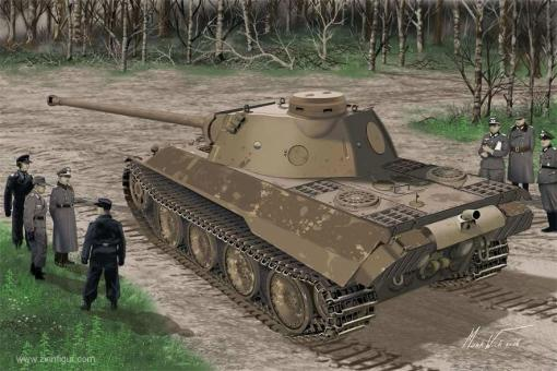 Panther Ausf.D V2 Versuchsserie Prototype