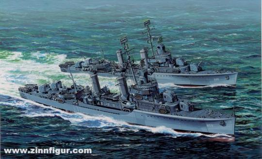 USS Laffey DD-459 - 1942